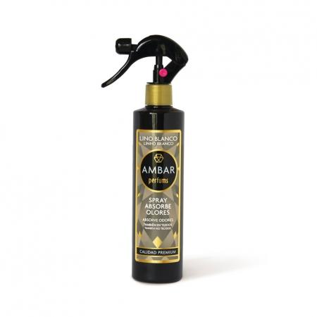 Ambientador Spray Absorbe Olores Lino Blanco