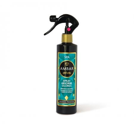 Ambientador Spray Absorbe Olores Spa Ambar Perfums