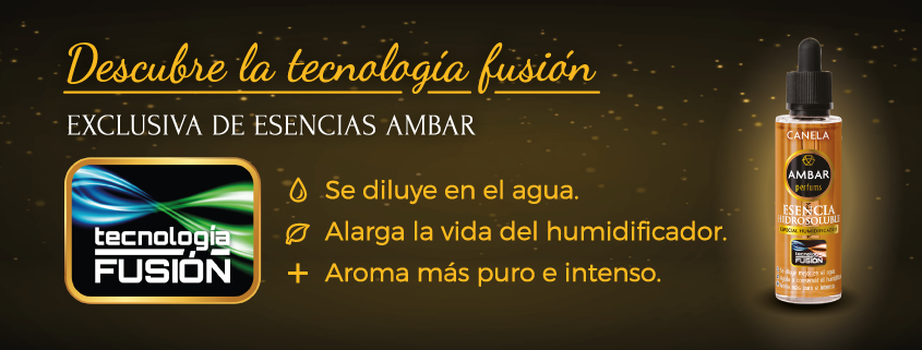 TECNOLOGÍA FUSIÓN AMBAR PERFUMS