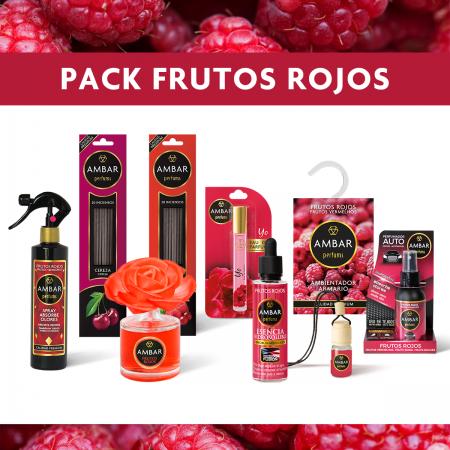 Pack Frutos Rojos Ambar Perfums